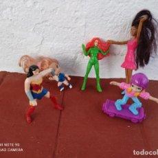 Figuras de Goma y PVC: LOTE DE MUÑECAS MCDONALD'S,BARBIE, MARVEL,POLLY POCKET. Lote 283473648
