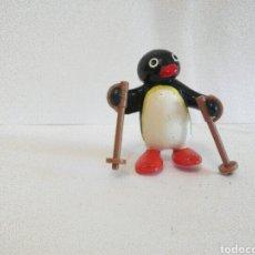 Figuras de Goma y PVC: FIGURA COLECCIONABLES / PINGU ESQUIADOR. Lote 283643218