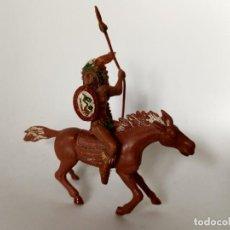 Figuras de Borracha e PVC: INDIO JINETE A CABALLO LAFREDO SERIE GRANDE. Lote 284091753