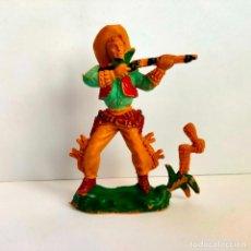 Figuras de Goma y PVC: VAQUERO DE LAFREDO 8 CMS. MUY BUEN ESTADO Y COMPLETO.. Lote 284151553