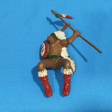 Figuras de Borracha e PVC: DIFICIL INDIO JINETE LAFREDO SERIE GRANDE. Lote 284286678
