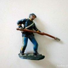 Figuras de Goma y PVC: FIGURA YANKEE ARTILLERO PECH GOMA. Lote 284588383