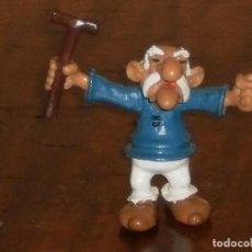 Figuras de Goma y PVC: FIGURA PVC – EDADEPIEDRIX – COLECCION ASTERIX - COMICS SPAIN. Lote 284609513