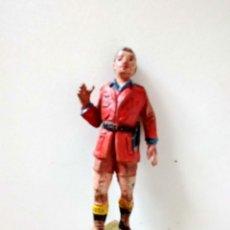 Figuras de Goma y PVC: FIGURA CAZADOR EXPLORADOR JECSAN GOMA. Lote 284618963