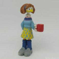 Figuras de Goma y PVC: FIGURA DE JEFF MACNELLY DE COMICS SPAIN 1986 - LUCILLE. Lote 284661123