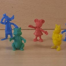 Figuras de Goma y PVC: DUNKIN- DISNEY CAJA MÁGICA LOTE 8 FIGURAS. Lote 285149263
