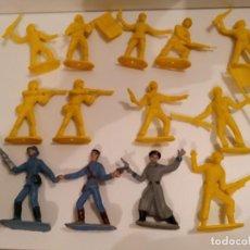Figuras de Goma y PVC: 13 SOLDADOS DEL MUNDO COMANSI - 9 AMARILLOS, 2 FRANCESES Y 1 RUSO. Lote 285275063