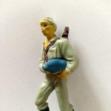 Figuras de Goma y PVC: FIGURA ARTILLERO SOLDADO JAPONÉS PECH. Lote 285334383