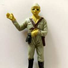 Figuras de Goma y PVC: FIGURA ARTILLERO SOLDADO JAPONÉS PECH. Lote 285334438