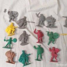 Figure di Gomma e PVC: LOTE 16 FIGURAS PVC WIKINGOS TIPO JECSAN REAMSA COMANSI PECH TEIXIDO... DESCONOZCO MARCA. Lote 285591638