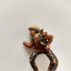 Figuras de Goma y PVC: FIGURA COWBOY GOMA TEIXIDO. Lote 285605308