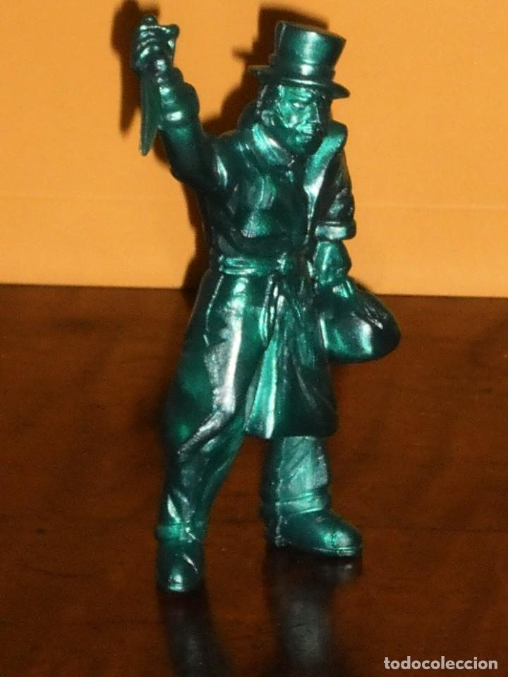 Figuras de Goma y PVC: FIGURA PVC YOLANDA SERIE MONSTRUOS - JACK EL DESTRIPADOR- AÑOS 90 MADE IN SPAIN - Foto 3 - 285737083