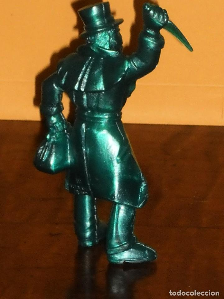 Figuras de Goma y PVC: FIGURA PVC YOLANDA SERIE MONSTRUOS - JACK EL DESTRIPADOR- AÑOS 90 MADE IN SPAIN - Foto 4 - 285737083
