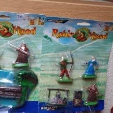 Figuras de Goma y PVC: ROBIN HOOD. 5 FIGURAS DE PERSONAJES DE ROBIN HOOD, DE LA MARCA BRITAINS. Lote 286508543