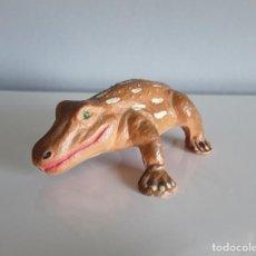 Figuras de Goma y PVC: MASTODONSAURUS, ANIMALES PREHISTÓRICOS / DINOSAURIOS STARLUX (FRANCE), ESTILO JECSAN O LAFREDO.. Lote 286553413
