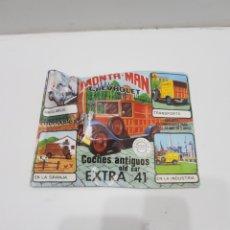 Figuras de Goma y PVC: ANTIGUO SOBRE DE KIOSCO MONTAPLEX. Lote 286638648