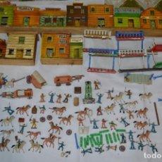 Figuras de Goma y PVC: MINI OESTE / DODGE CIUDAD SIN LEY - FIGURAS Y CLASES VARIADAS / PLÁSTICO/PVC - COMANSI -¡MIRA FOTOS!. Lote 286792388