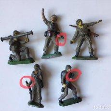 Figuras de Goma y PVC: JECSAN COMBATIENTES USA SEGUNDA GUERRA MUNDIAL EN GOMA. Lote 286796733