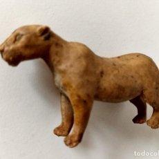 Figuras de Goma y PVC: FIGURA LEONA DE ARCLA AÑOS 50. Lote 286835468