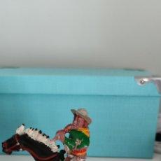 Figuras de Goma y PVC: VAQUERO LUKE Y CABALLO LAFREDO SERIE GRANDE AÑOS 50/60. Lote 286881603