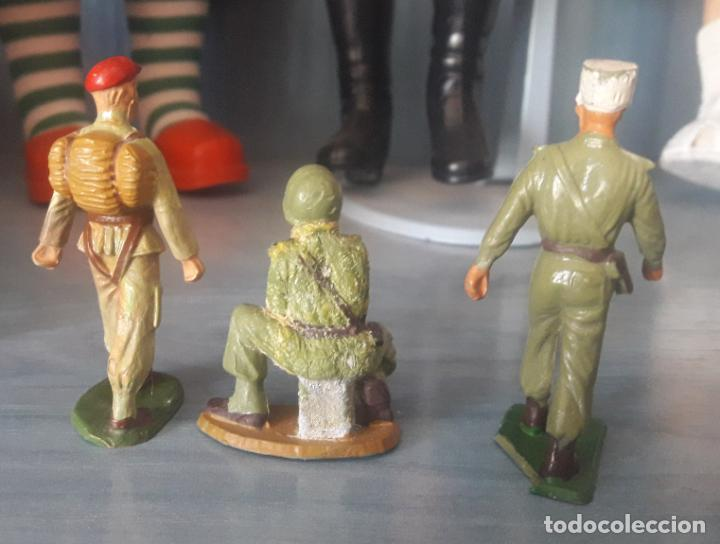 Figuras de Goma y PVC: LOTE 6 FIGURAS MILITARES SOLDADOS STARLUX - Foto 3 - 286883743