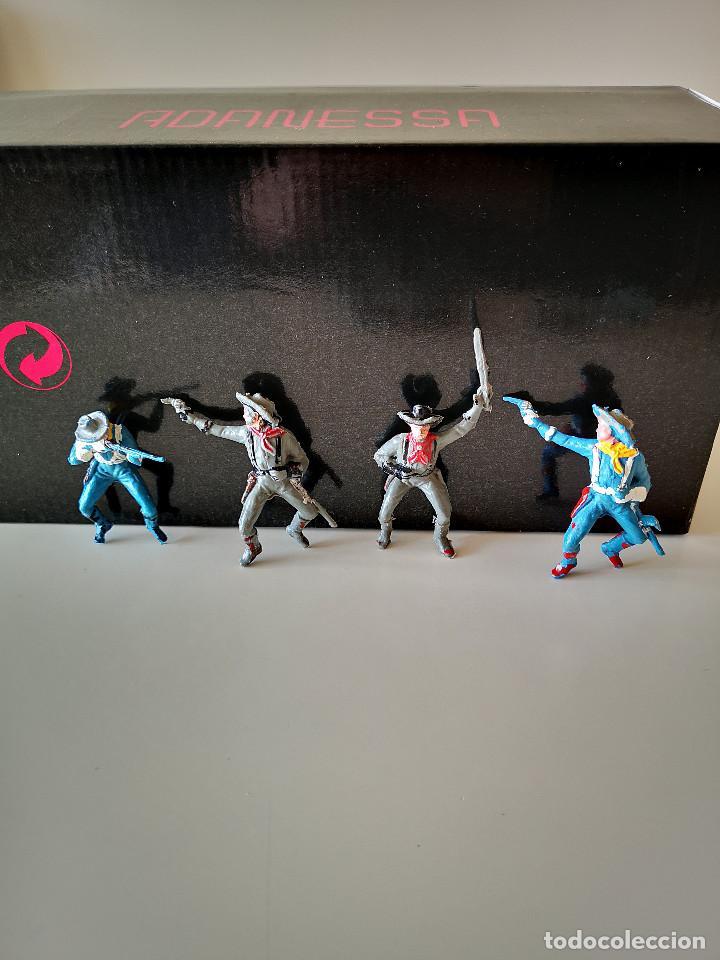 Figuras de Goma y PVC: GRAN LOTE DE FIGURAS PVC INDIOS Y VAQUEROS TIPO COMANSI - Foto 3 - 286928553