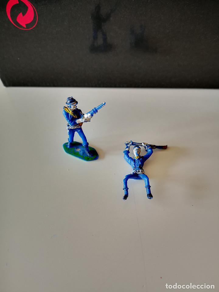 Figuras de Goma y PVC: GRAN LOTE DE FIGURAS PVC INDIOS Y VAQUEROS TIPO COMANSI - Foto 5 - 286928553