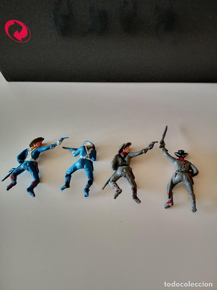 Figuras de Goma y PVC: GRAN LOTE DE FIGURAS PVC INDIOS Y VAQUEROS TIPO COMANSI - Foto 7 - 286928553