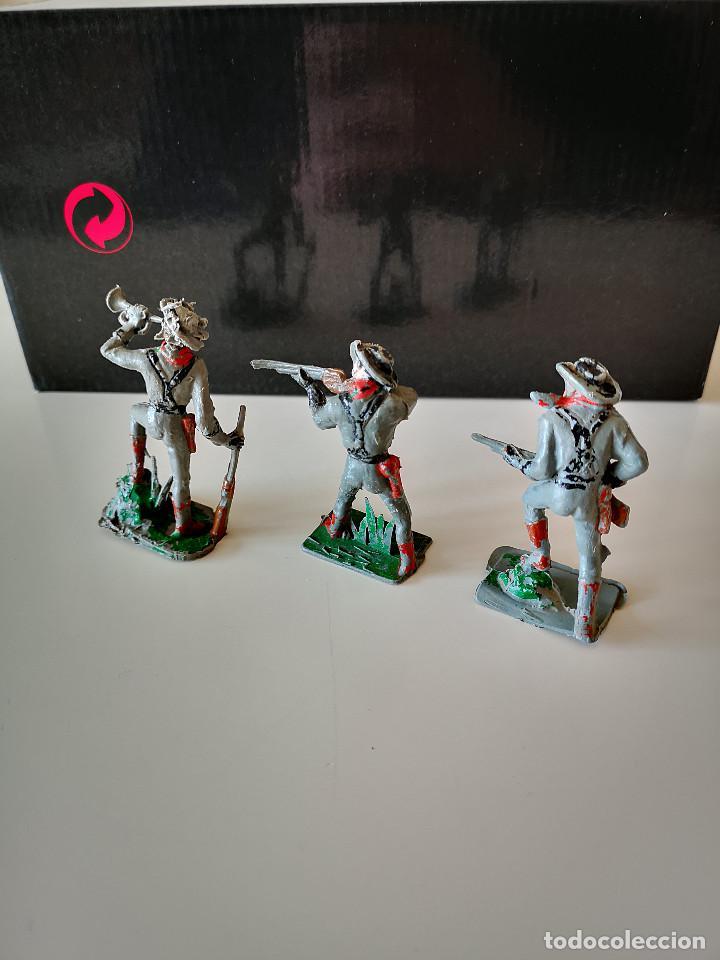 Figuras de Goma y PVC: GRAN LOTE DE FIGURAS PVC INDIOS Y VAQUEROS TIPO COMANSI - Foto 8 - 286928553