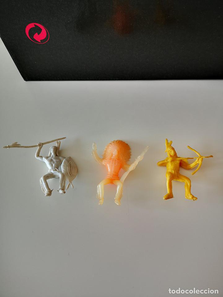 Figuras de Goma y PVC: GRAN LOTE DE FIGURAS PVC INDIOS Y VAQUEROS TIPO COMANSI - Foto 12 - 286928553