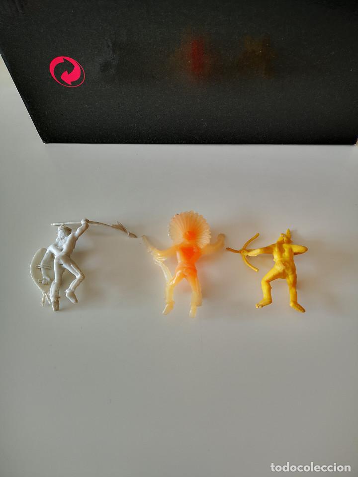 Figuras de Goma y PVC: GRAN LOTE DE FIGURAS PVC INDIOS Y VAQUEROS TIPO COMANSI - Foto 13 - 286928553
