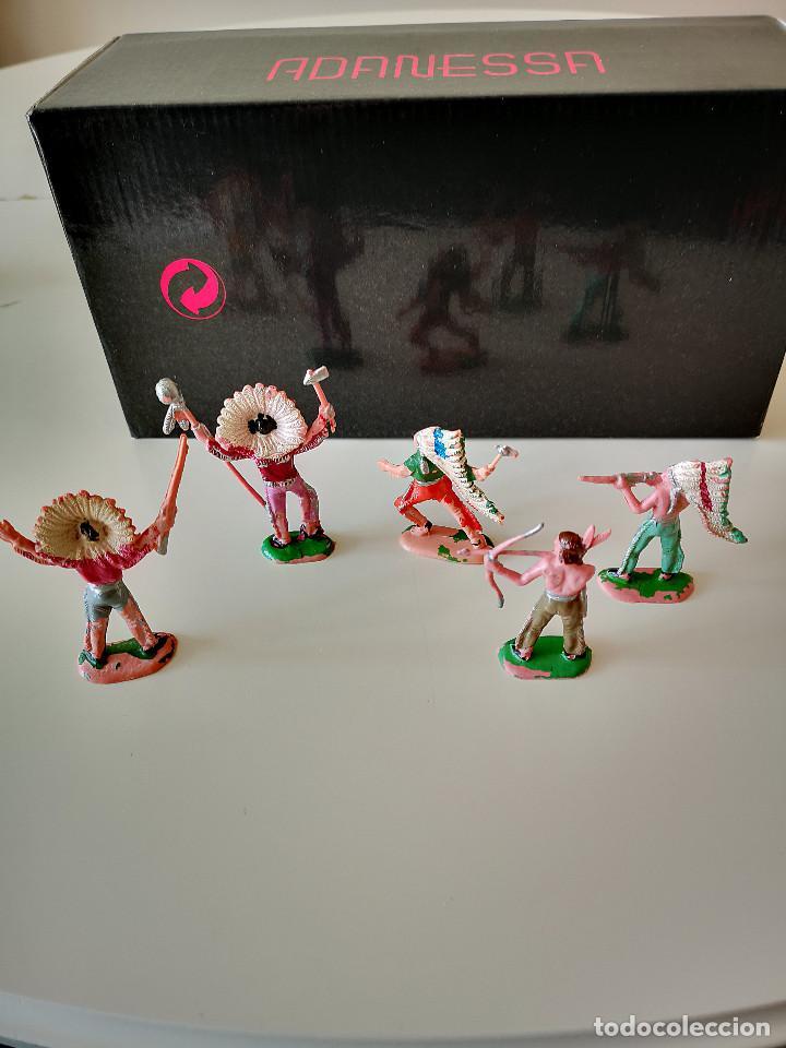 Figuras de Goma y PVC: GRAN LOTE DE FIGURAS PVC INDIOS Y VAQUEROS TIPO COMANSI - Foto 15 - 286928553