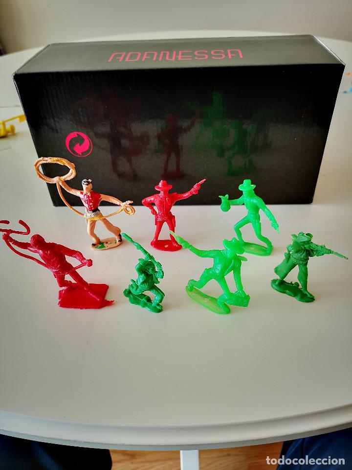 Figuras de Goma y PVC: GRAN LOTE DE FIGURAS PVC INDIOS Y VAQUEROS TIPO COMANSI - Foto 16 - 286928553