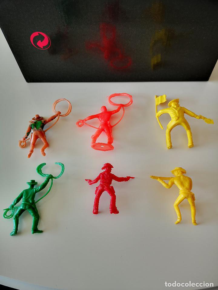 Figuras de Goma y PVC: GRAN LOTE DE FIGURAS PVC INDIOS Y VAQUEROS TIPO COMANSI - Foto 20 - 286928553