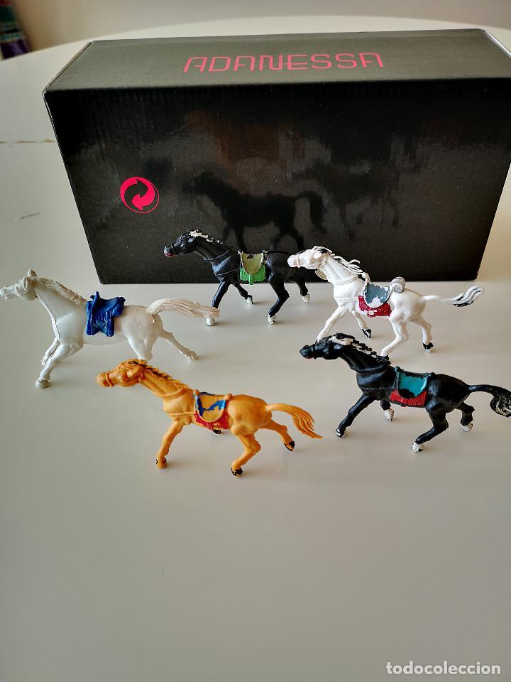 Figuras de Goma y PVC: GRAN LOTE DE FIGURAS PVC INDIOS Y VAQUEROS TIPO COMANSI - Foto 21 - 286928553