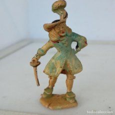 Figuras de Borracha e PVC: FIGURA DE GOMA CAPITÁN GARFIO SERIE PETER PAN PECH. Lote 287119348