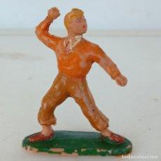 Figuras de Goma y PVC: PEDRIN . FIGURA REALIZADA POR ESTEREOPLAST . SERIE ROBERTO ALCAZAR Y PEDRIN . ORIGINAL AÑOS. Lote 287131343