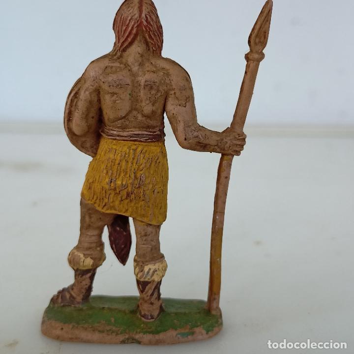 Figuras de Goma y PVC: Figura guerrero galo ibero capitán trueno ? Estereoplast jecsan pech reamsa - Foto 2 - 287133383