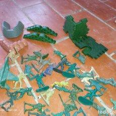 Figuras de Goma y PVC: GRAN LOTE DE FIGURAS DE PLÁSTICO DE GUERRAS Y MILITARES,MONTAPLEX. Lote 287167088