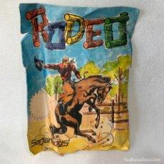 Figuras de Goma y PVC: SOBRE DE FIGURAS DE PLÁSTICO DEL OESTE RODEO MARCA SERJAN SERJANBOYS TIPO MONTAPLEX. Lote 287210238