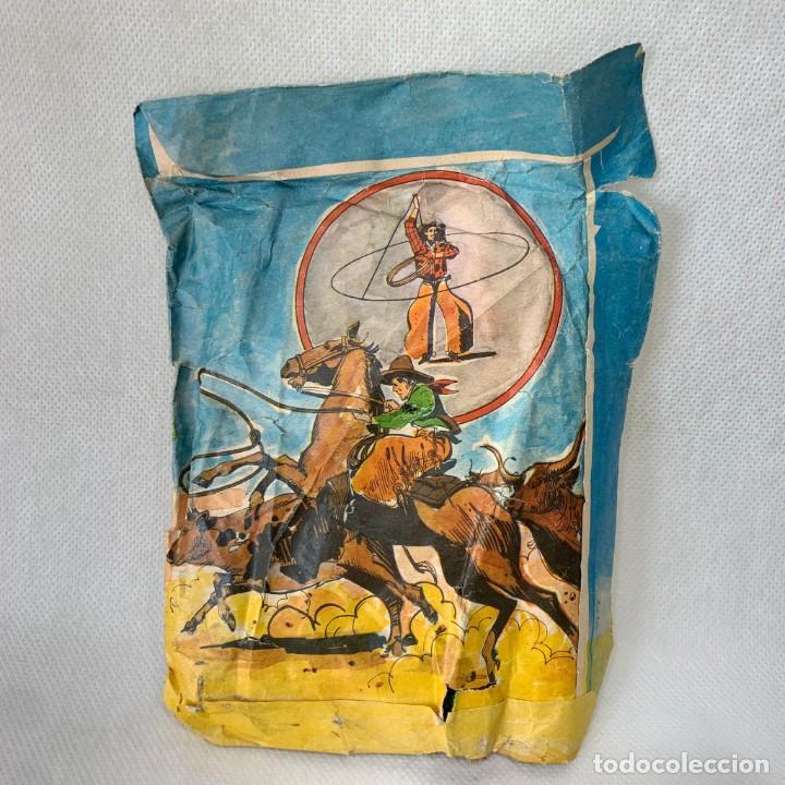 Figuras de Goma y PVC: SOBRE DE FIGURAS DE PLÁSTICO DEL OESTE RODEO MARCA SERJAN SERJANBOYS TIPO MONTAPLEX - Foto 2 - 287210238
