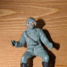 Figuras de Goma y PVC: SOLDADO ALEMAN DE PECH TAL COMO SE VE. Lote 287253293
