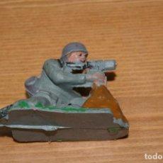 Figuras de Goma y PVC: SOLDADO ALEMAN DE PECH TAL COMO SE VE. Lote 287253383