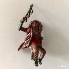 Figuras de Goma y PVC: FIGURA INDIO LAFREDO GOMA. Lote 287322263