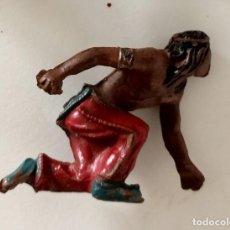 Figuras de Goma y PVC: FIGURA INDIO LAFREDO GOMA. Lote 287322568