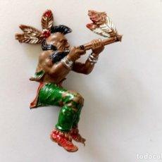Figuras de Goma y PVC: FIGURA INDIO LAFREDO. Lote 287322843