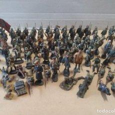 Figuras de Goma y PVC: 86 FIGURAS ELASTOLIN-LINEOL EJÉRCITO ALEMÁN - AÑOS 30. Lote 287348193
