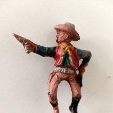 Figuras de Goma y PVC: FIGURA VAQUERO GOMA AÑOS 50 LAFREDO. Lote 287356473