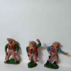 Figuras de Goma y PVC: COWBOYS LAFREDO GOMA. Lote 287370138