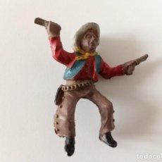 Figuras de Goma y PVC: FIGURA VAQUERO LAFREDO GOMA. Lote 287374513